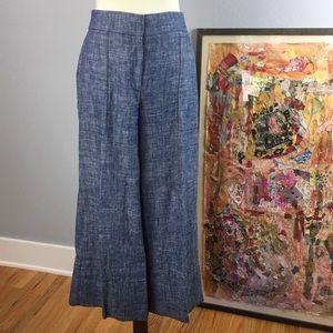 Ann Taylor wide leg crop trousers | Size 4 | EUC